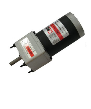 Redüktörlü DC Motor
